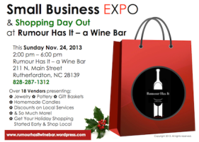 Green River Plantation to Attend as Vendor at Small Business